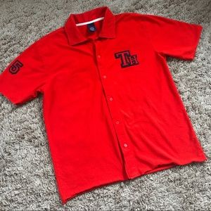 Men's Tommy Hilfiger Jeans button up polo